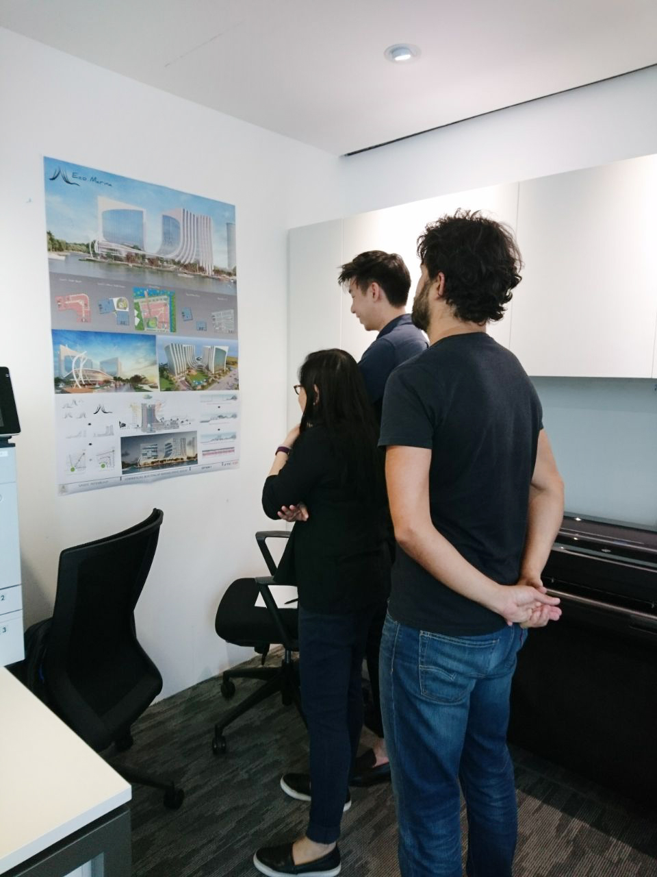 Eco Marina Project Panel
