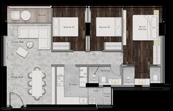 Juinagar Residences 3BR