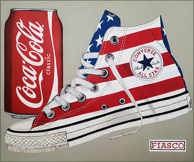 All Stars Stripes & Coke