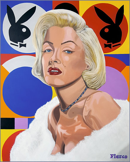 Marilyn and the bunnies