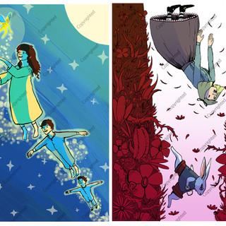 Peter Pan / Alice in Wonderland