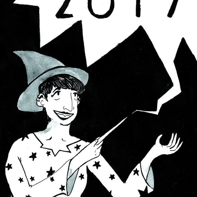 Inktober 2017 Zine - Cover