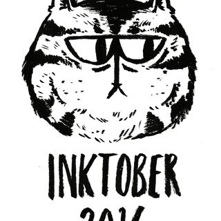 Inktober 2016 - Cover