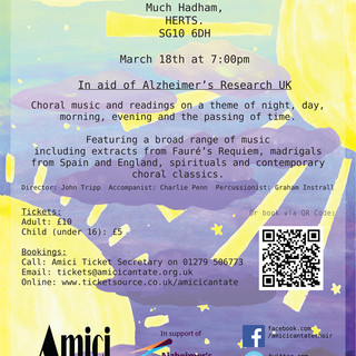 Amici Cantate - Promotional Poster 3