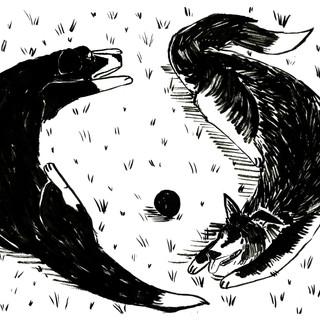 Tragedy - Back Illustration