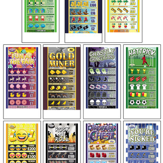 ClubKing - Pull Tab Ticket designs