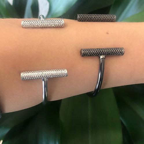 Bracelete Cilindro Brilho
