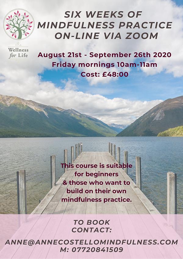 6 week mindfulness practice