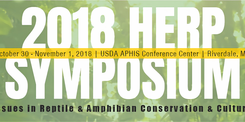2018 Herp Symposium: Issues in Reptile & Amphibian Conservation & Culture
