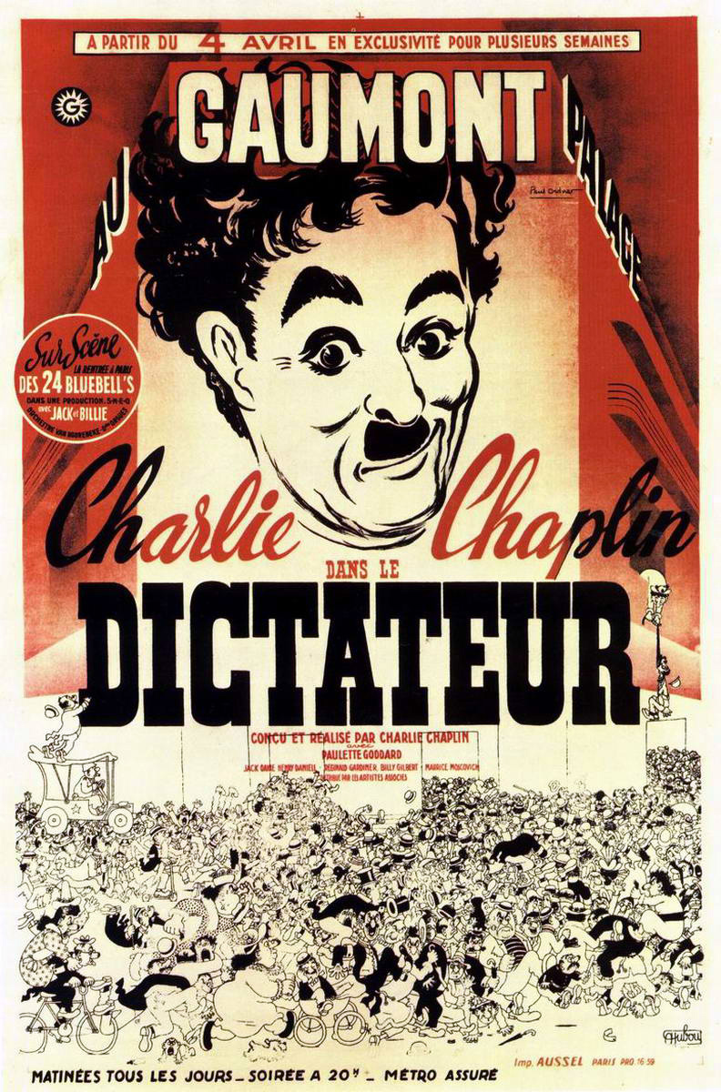 Poster - Great Dictator, The