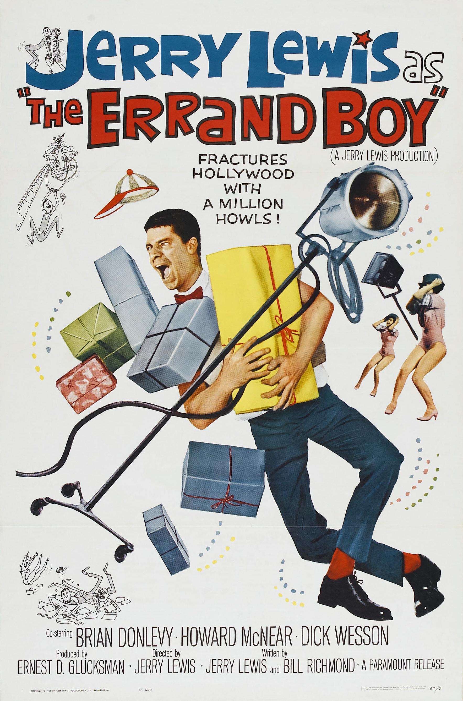 Poster - Errand Boy, The