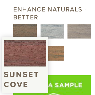 Trex Enhance Sunset Cove