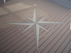 Compass Rose Inlay