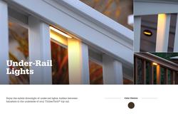 TimberTech Azek Under-Rail Light