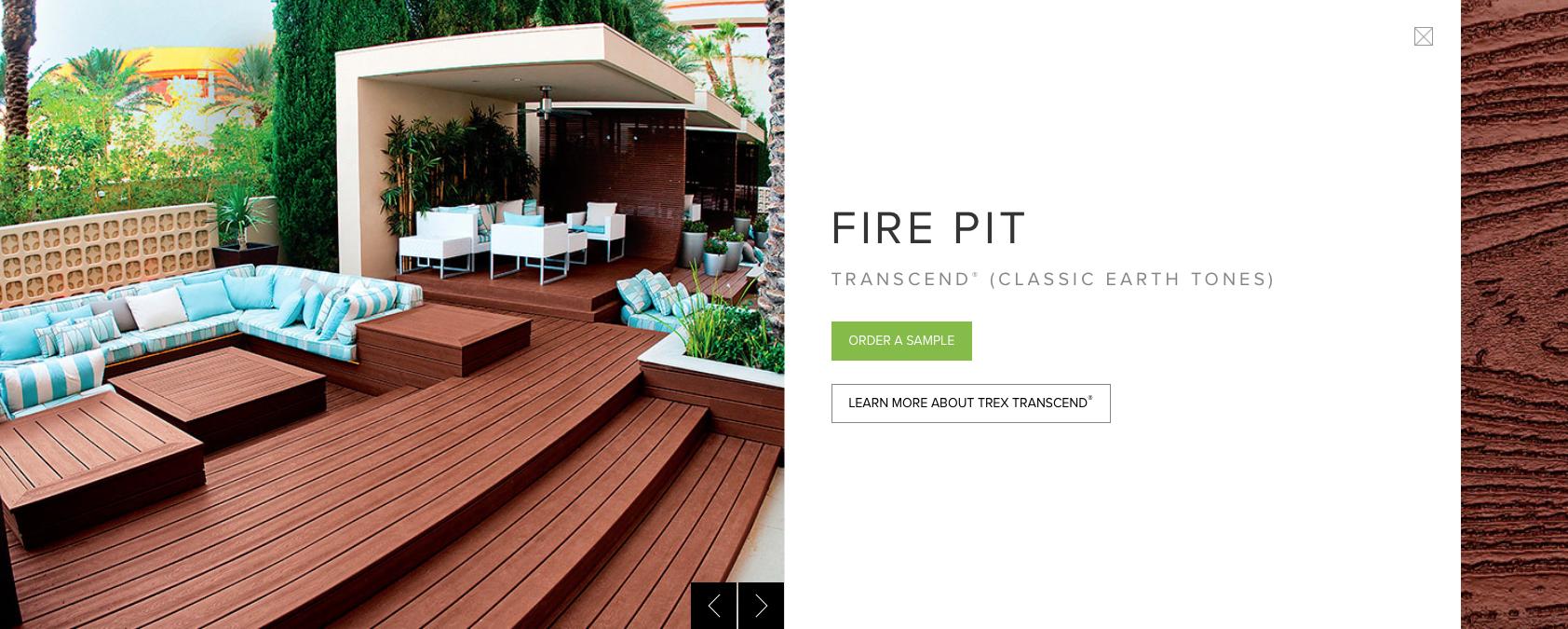 Trex Transcend (Classic Earth Tones) Fire Pit