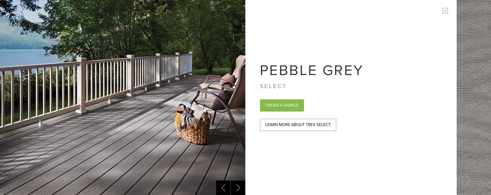 Trex Select Pebble Grey