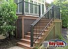 Michiana Deck Builders Key-Link Graspable Handrail