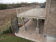 Michiana Deck Builders Stone