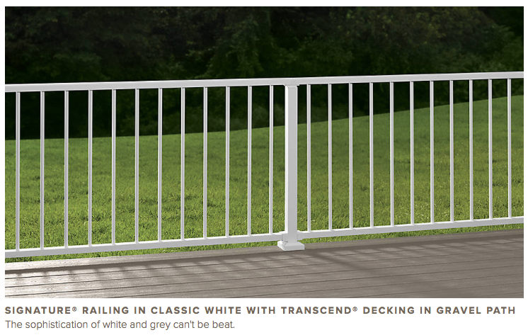 Trex Signature Continuous Railing