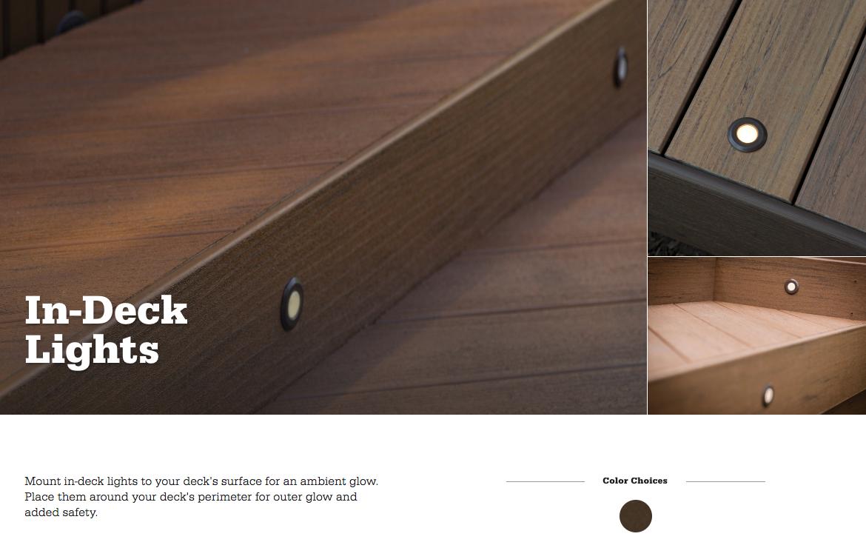 TimberTech Azek In-Deck Light
