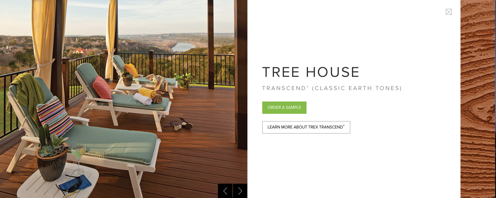 Trex Transcend (Classic Earth Tones) Tree House