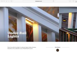 TIMBERTECH UNDER-RAIL LIGHTS