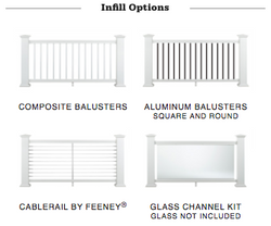 Reserve Rail Infill Options