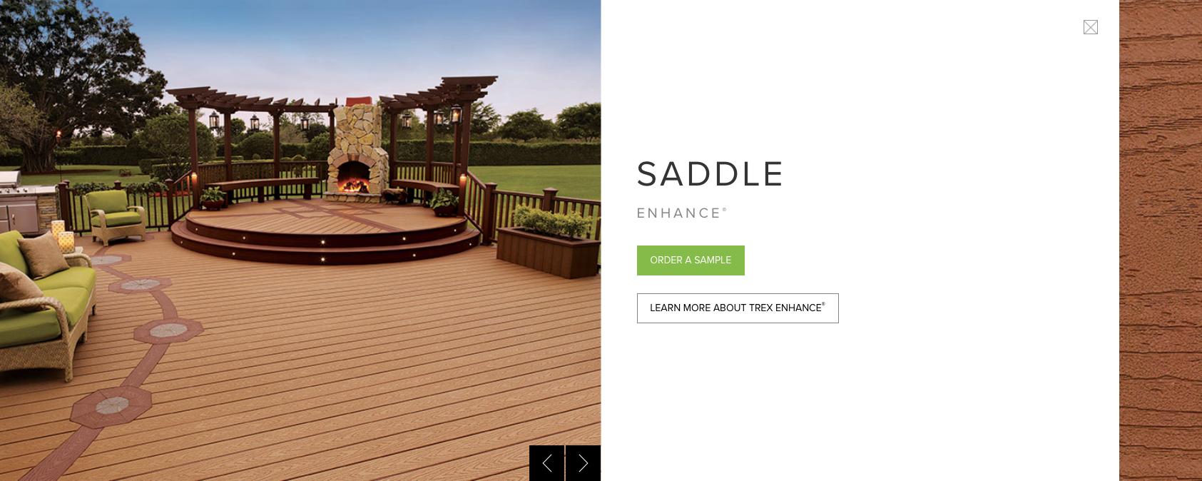 Trex Enhance Saddle