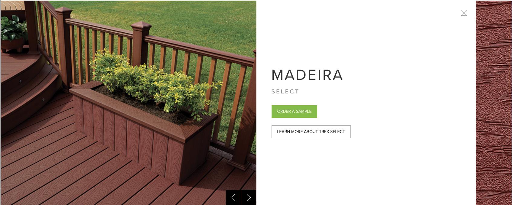 Trex Select Madeira