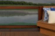 Michiana Deck Builders Composite Glass Railing
