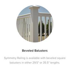 Fiberon Symmetry Railing Beveled Balusters