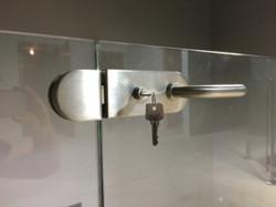 InvisiRail Locking Latch