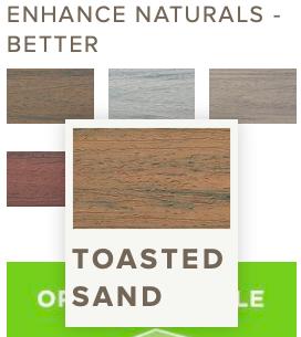 Trex Enhance Toasted Sand