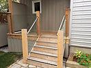 Michiana Deck Builders InvisiRail Graspable Handrail