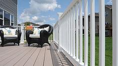 Michiana Deck Builders Trademark Railing