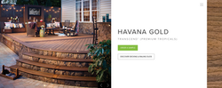 Trex Transcend (Premum Tropicals) Havana Gold