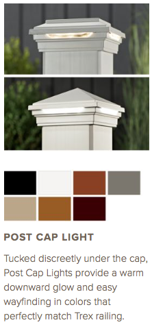 Trex Post Cap Light