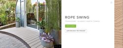 Trex Transcend (Classic Earth Tones) Rope Swing