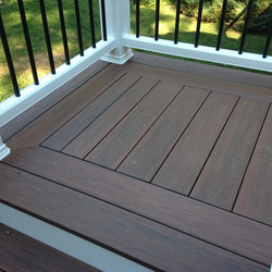 Picture Frame Wood Deck 2