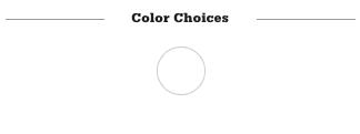 Reserve Rail Color Choices