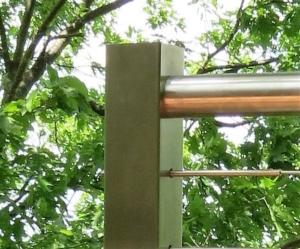 InvisiRail Cable End Post
