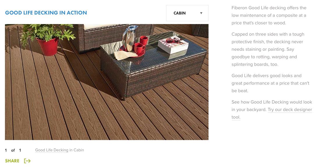 Fiberon Good Life Cabin