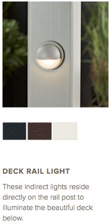 Trex Deck Rail Light