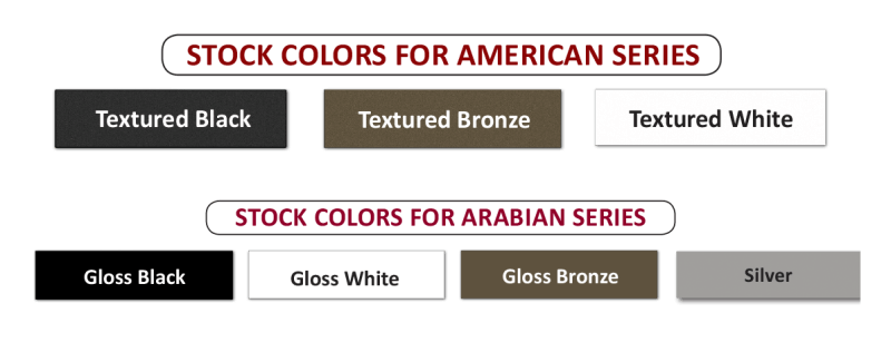Key-Link Standard Colors