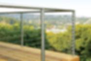 Michiana Deck Builders Ultramodern Railing