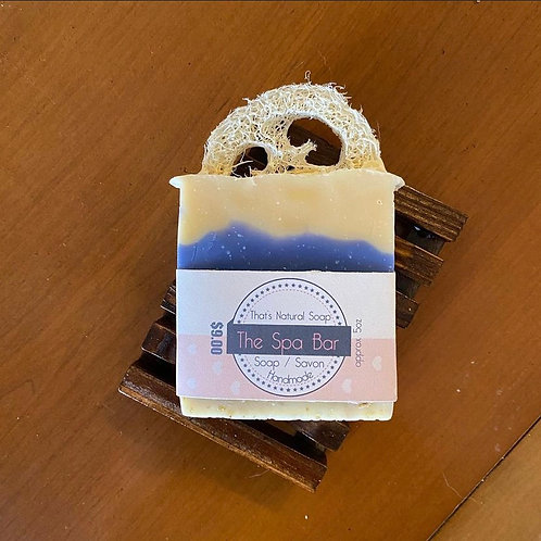 The Spa Bar and Soap Deck: Made for The Haven by That's Natural Soap Products