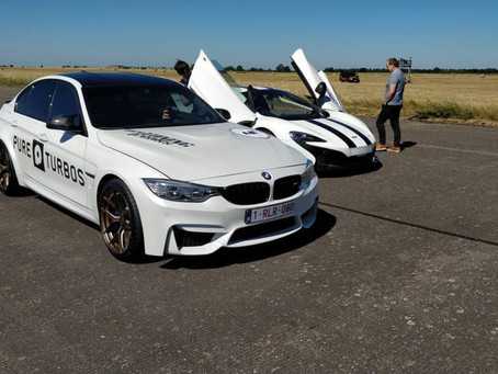 Forged magnesium wheels for record setting BMW