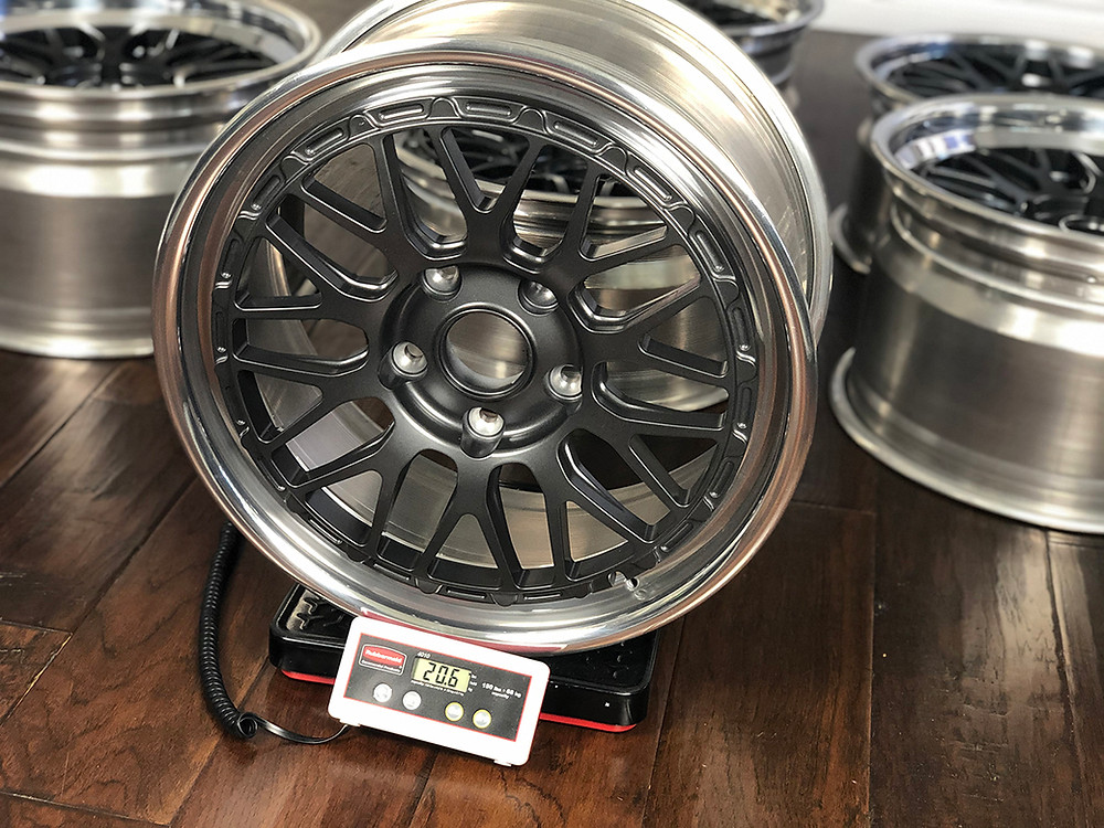 forged magnesium wheels for Porsche 993