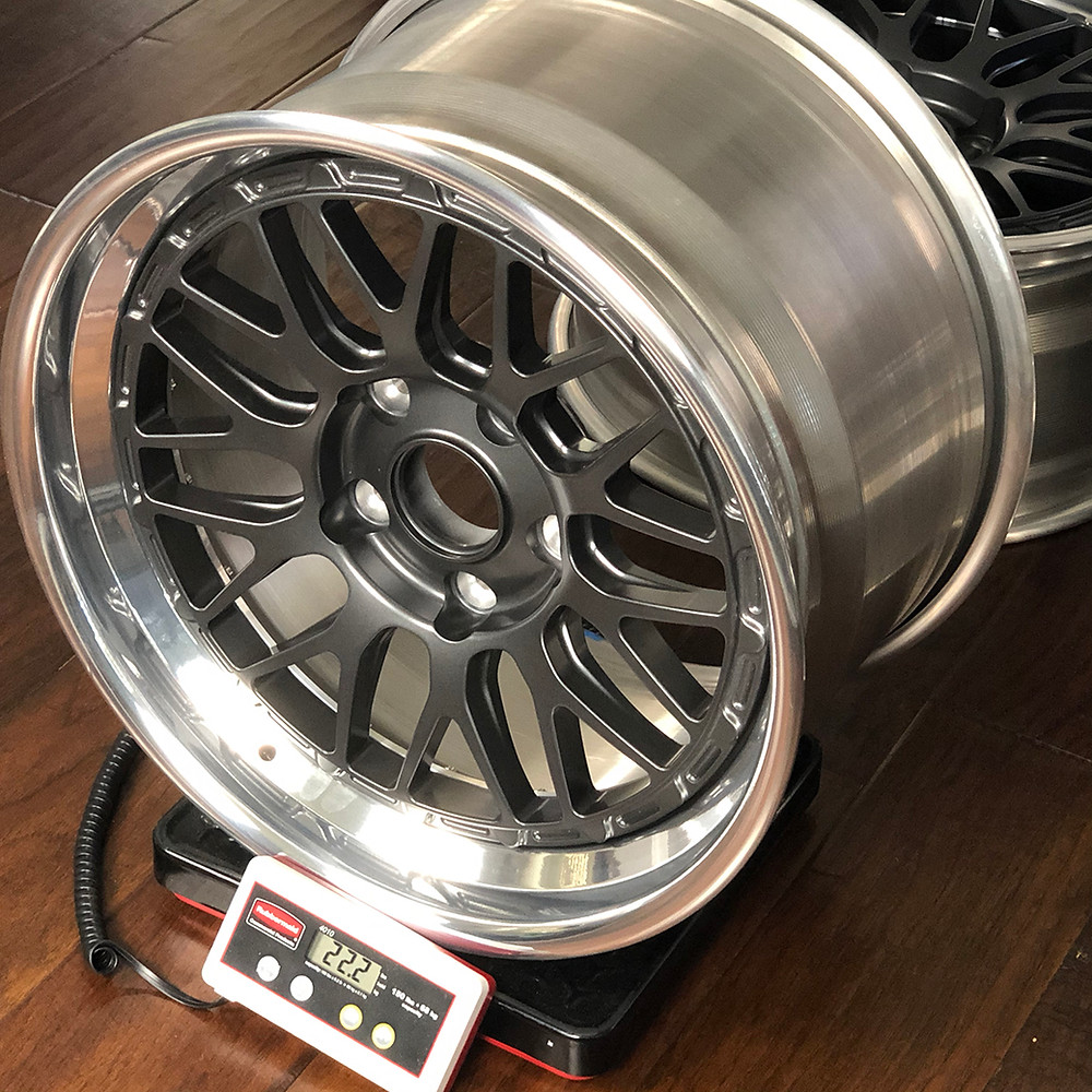 forged magnesium wheel for Porsche 993 turbo