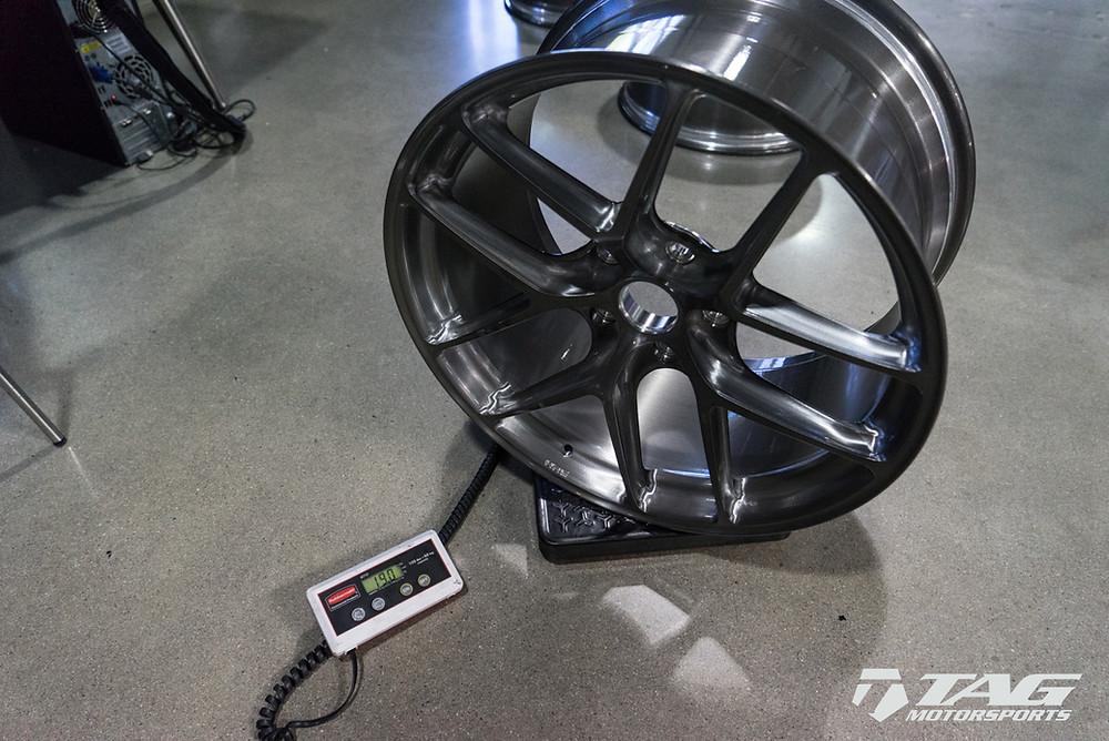 HRE wheel weight